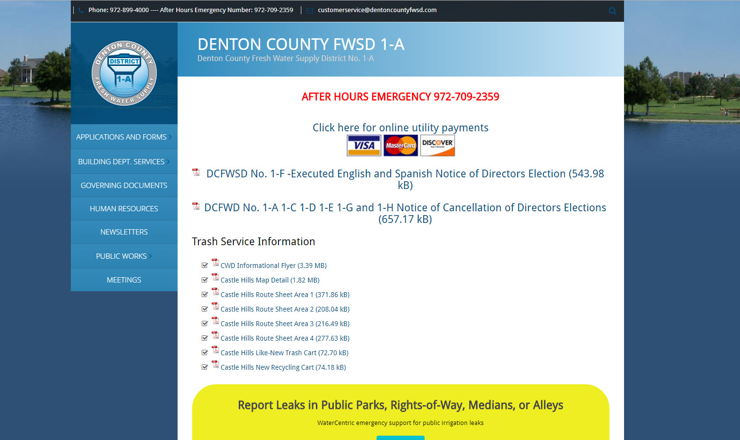 Denton County Fresh Water Supply District No. 1-A