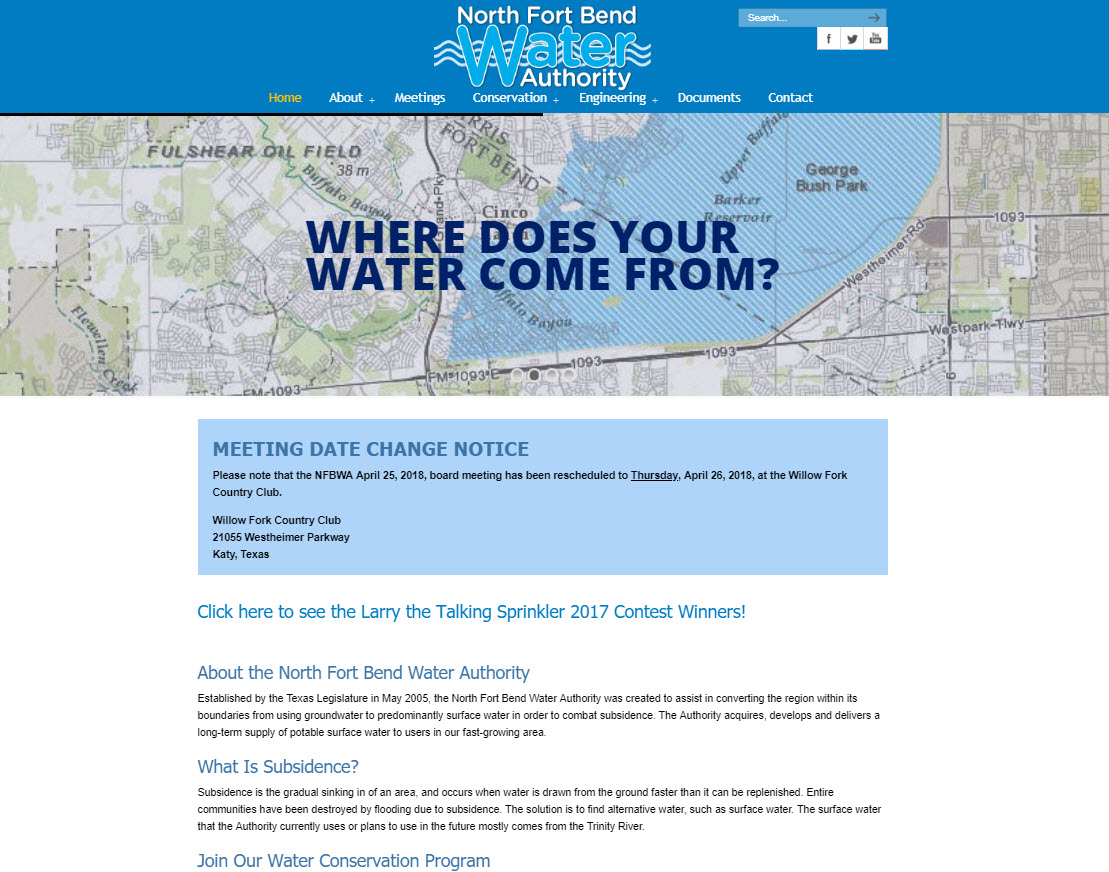 North Fort Bend Water Authority (NFBWA)