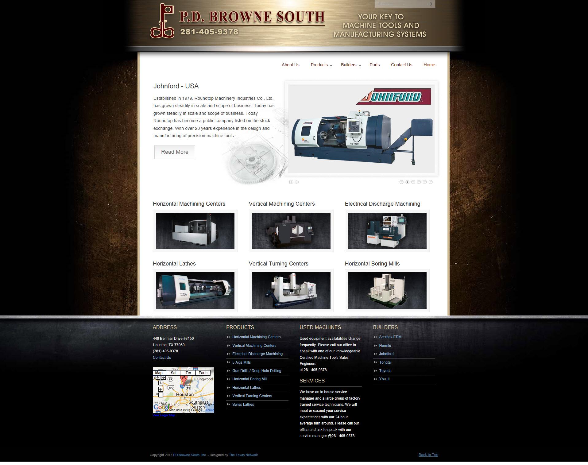 PD Browne Machine Tools