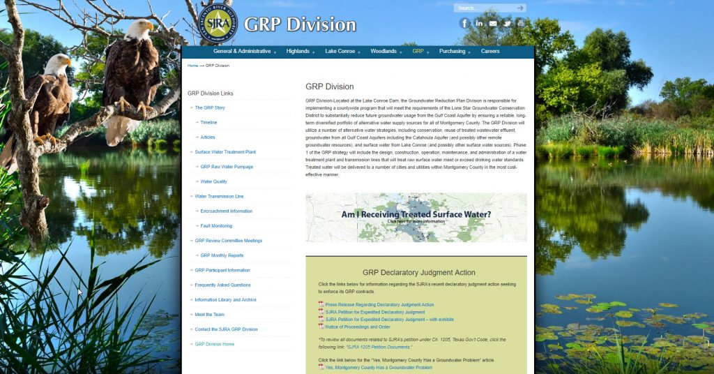 SJRA GRP Division