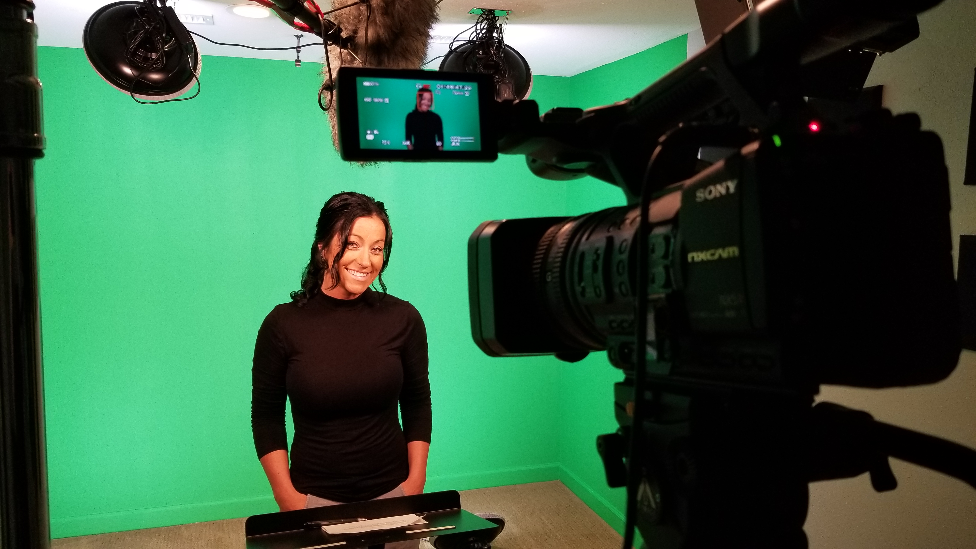Green Screen Studio Available