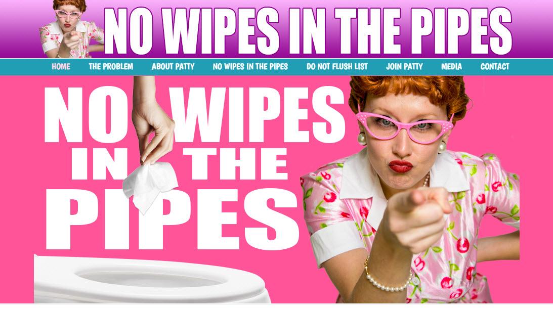 Patty Potty - No Wipes!