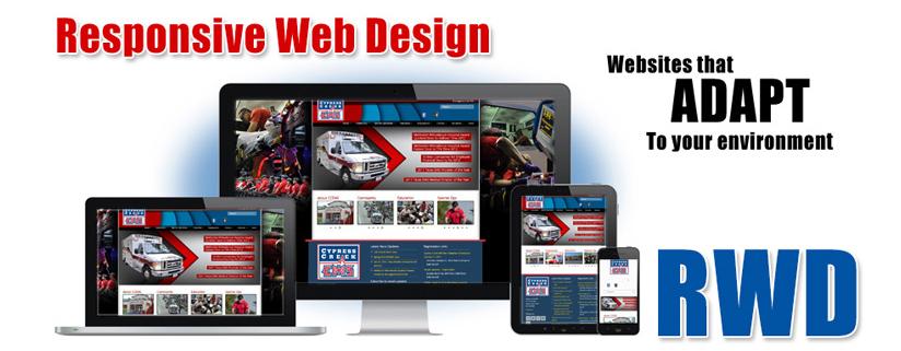 Responsive website designers in Houston, Texas