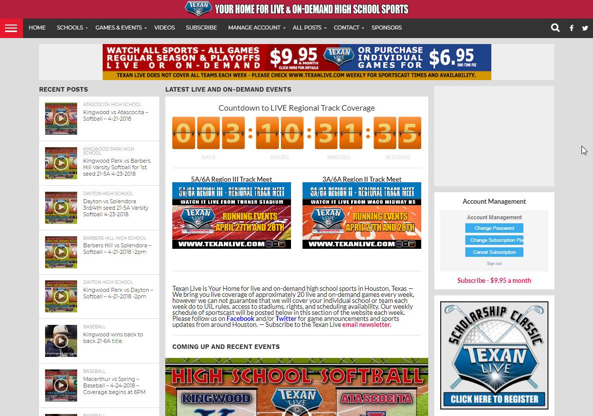 Texan Live - H.S. Sports Media