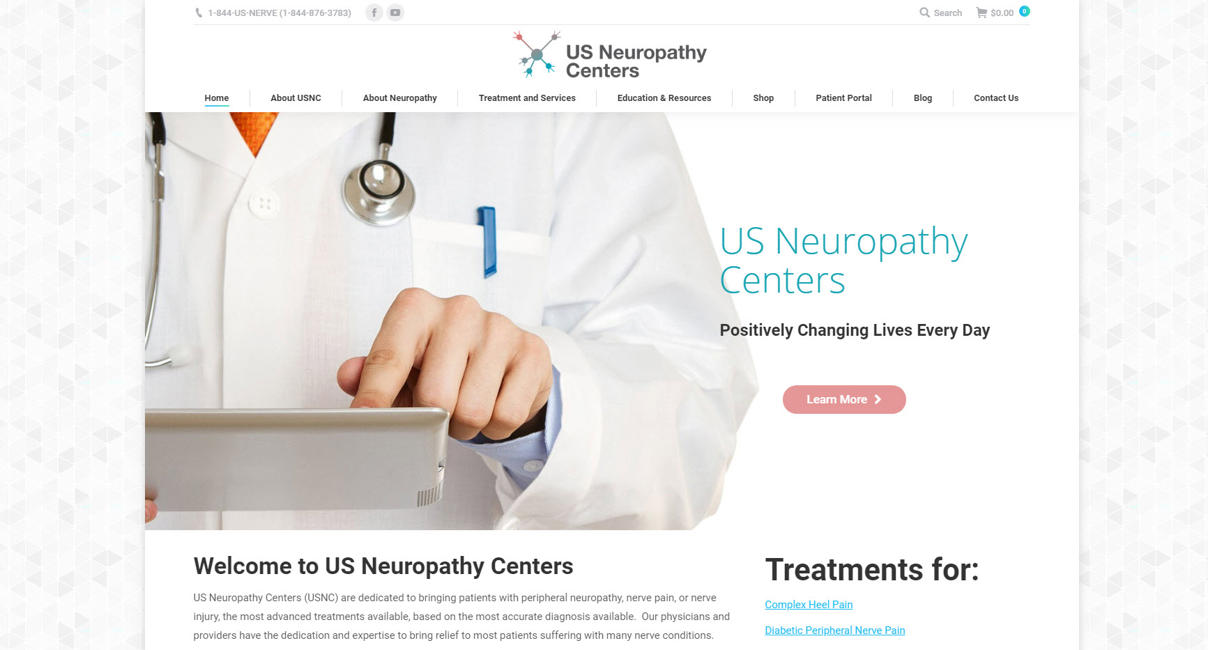 US Neuropathy Centers