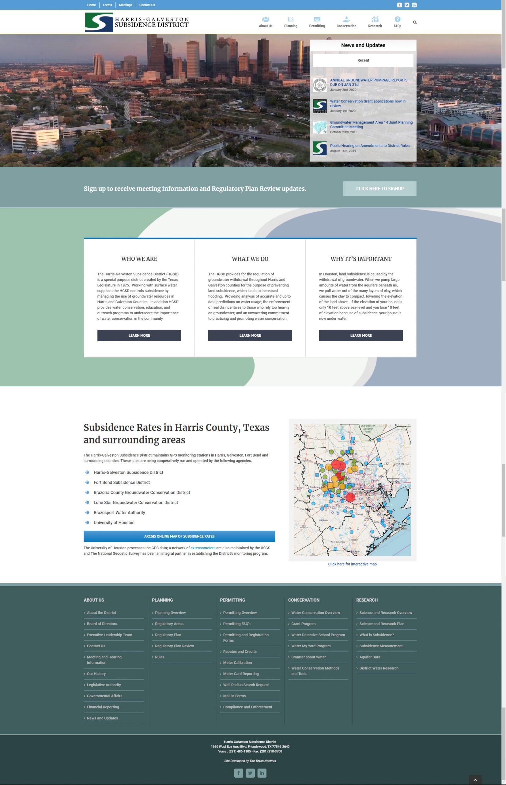 Harris-Galveston Subsidence District