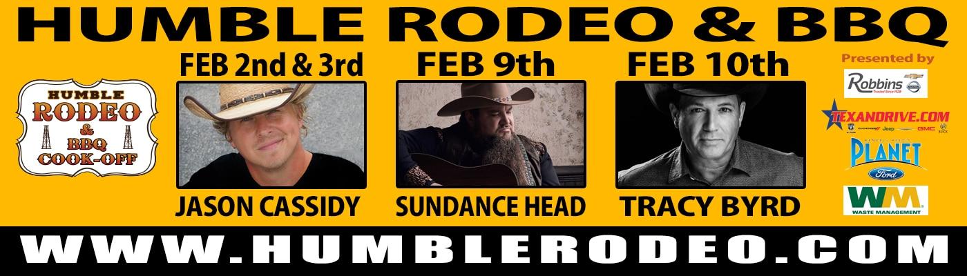 Humble Rodeo Billboard