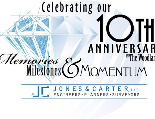 Jones and Carter 10th Anniversary logo design