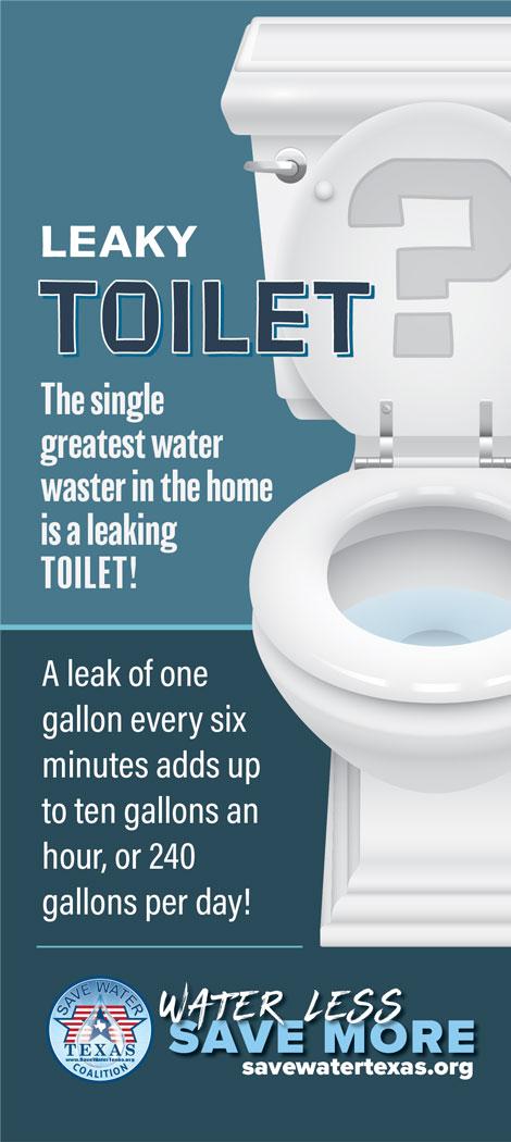 Leaky Toilet insert