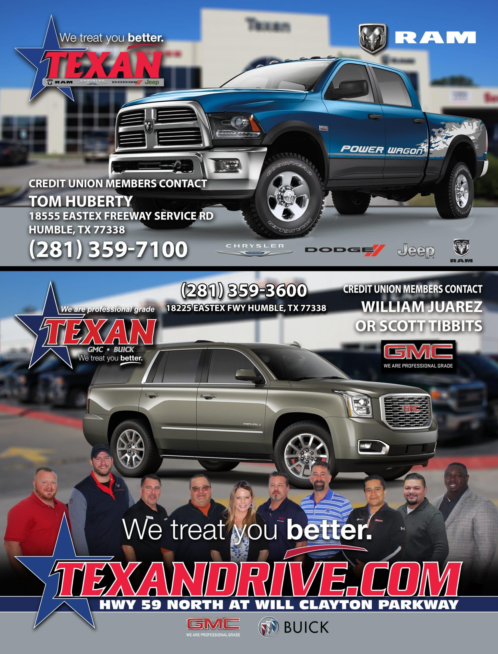 Texan Buick GMC Ad