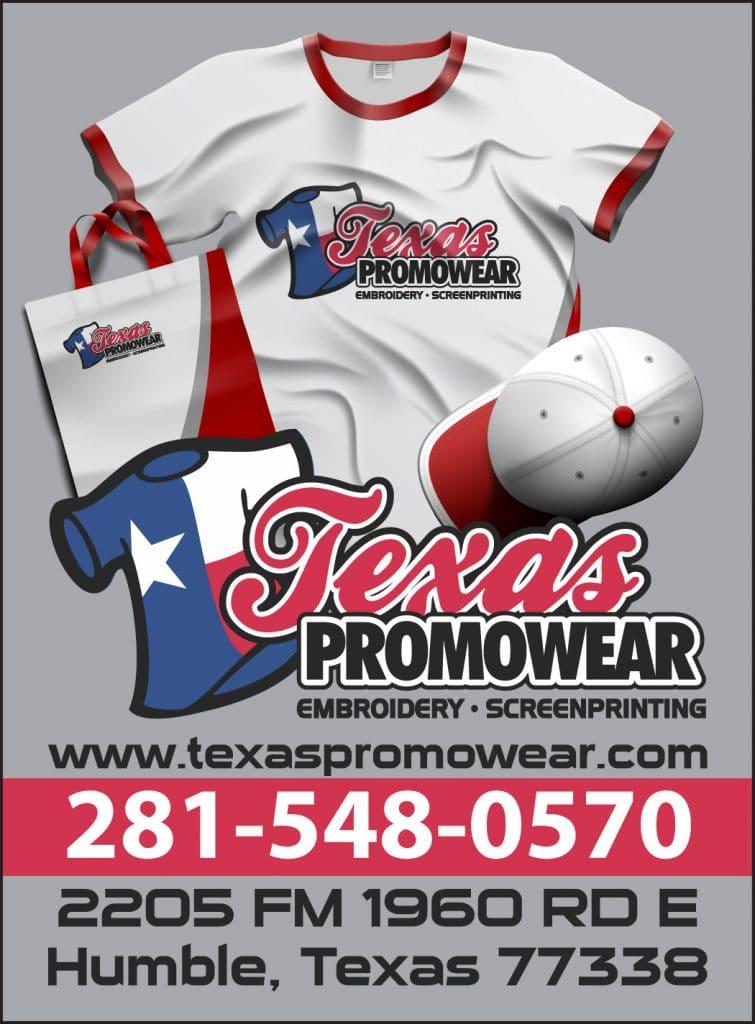 Texas Promowear Ad