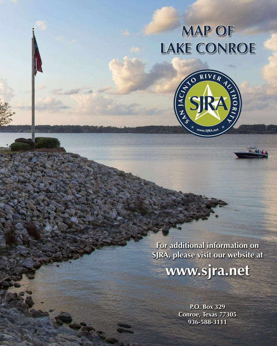 Map of Lake Conroe Cover